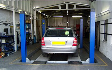 MOT test centre in Barnet